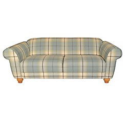 Debenhams - Large checked fabric 'Carnegie' sofa
