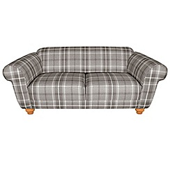 Debenhams - Medium checked fabric 'Carnegie' sofa