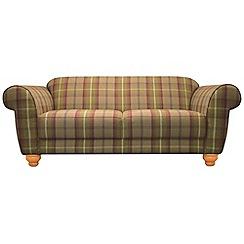 Debenhams - Medium checked fabric 'Carnegie' sofa