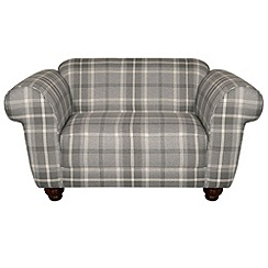 Debenhams - Checked fabric 'Carnegie' loveseat