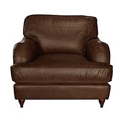Debenhams - Leather 'Alethea' armchair