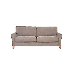 Debenhams - Extra-large velour 'Fyfield Grace' sofa