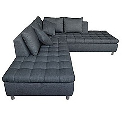 Debenhams - 'Stratos' left-hand facing chaise corner sofa