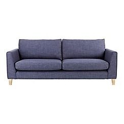 Ben de Lisi Home - Large flat weave fabric 'Jakob' sofa