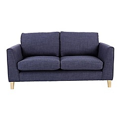Ben de Lisi Home - Small flat weave fabric 'Jakob' sofa