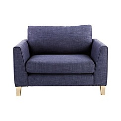 Ben de Lisi Home - Flat weave fabric 'Jakob' loveseat