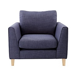 Ben de Lisi Home - Flat weave fabric 'Jakob' armchair