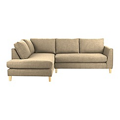 Ben de Lisi Home - Fabric 'Jakob' left-hand facing corner sofa