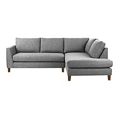 Ben de Lisi Home - Flat weave fabric 'Jakob' right-hand facing corner sofa
