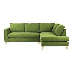 Ben de Lisi Home - Fabric 'Jakob' right-hand facing corner sofa