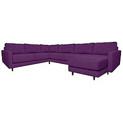 RJR.John Rocha - 'Eclipse' right-hand facing corner sofa with chaise