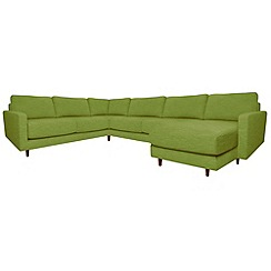 RJR.John Rocha - 'Eclipse' right-hand facing corner sofa with chaise