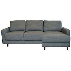 RJR.John Rocha - 'Eclipse' right-hand facing chaise corner sofa