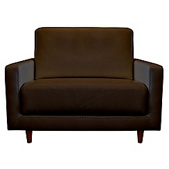 RJR.John Rocha - Leather 'Eclipse' loveseat
