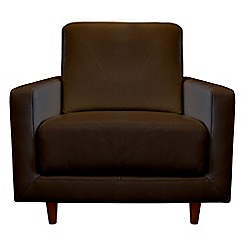 RJR.John Rocha - Leather 'Eclipse' armchair