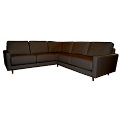 RJR.John Rocha - Leather 'Eclipse' corner sofa
