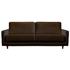 RJR.John Rocha - Large leather 'Eclipse' sofa