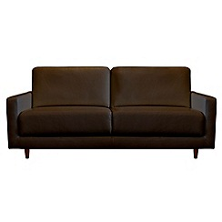 RJR.John Rocha - Medium leather 'Eclipse' sofa
