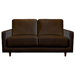 RJR.John Rocha - Small leather 'Eclipse' sofa