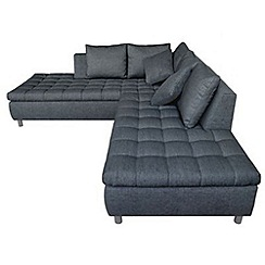 Debenhams - 'Stratos' right-hand facing chaise corner sofa