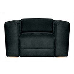 RJR.John Rocha - Suede effect 'Elements' armchair