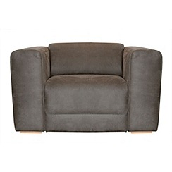 RJR.John Rocha - Suede effect 'Elements' armchair