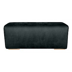 RJR.John Rocha - Large suede effect 'Elements' footstool