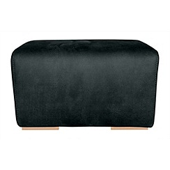 RJR.John Rocha - Small suede effect 'Elements' footstool