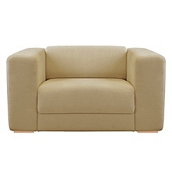 RJR.John Rocha - Linen blend 'Elements' loveseat