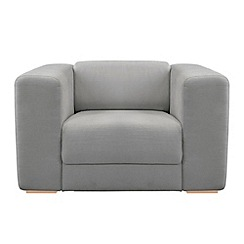 RJR.John Rocha - Linen blend 'Elements' armchair