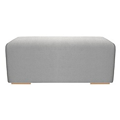 RJR.John Rocha - Large linen blend 'Elements' footstool
