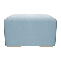 RJR.John Rocha - Small linen blend 'Elements' footstool