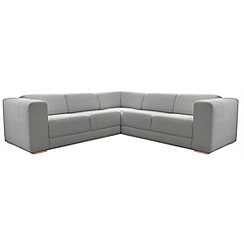 RJR.John Rocha - Linen blend 'Elements' corner sofa