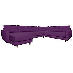 RJR.John Rocha - 'Eclipse' left-hand facing corner sofa with chaise