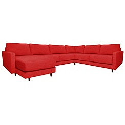RJR.John Rocha - 'Eclipse' left-hand facing corner sofa with chaise