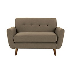 Ben de Lisi Home - 'Hockney' loveseat with contrasting buttons