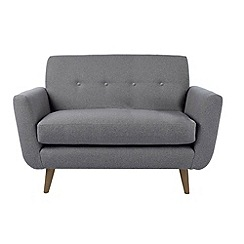 Ben de Lisi Home - 'Hockney' loveseat with matching colour buttons