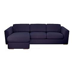 Debenhams - 'Paris' left-hand facing chaise corner sofa