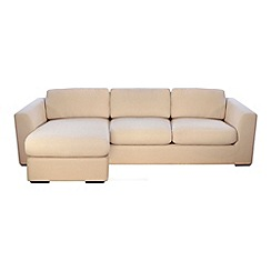 Debenhams - 'Paris' left-hand facing chaise corner sofa