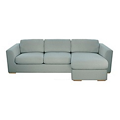 Debenhams - 'Paris' right-hand facing chaise corner sofa