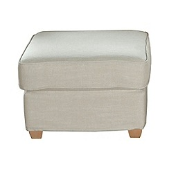 Debenhams - 'Dante' loose cover footstool