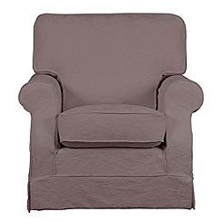 Debenhams - 'Wentworth' loose cover armchair