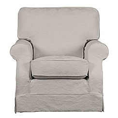 Debenhams - 'Wentworth' loose cover armchair