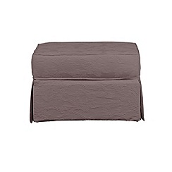 Debenhams - 'Wentworth' loose cover footstool