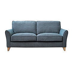 Debenhams - Large textured 'Fyfield Barley' sofa
