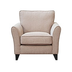 Debenhams - Woven 'Fyfield Barley' armchair