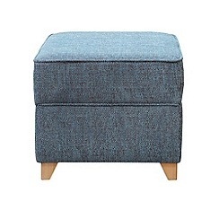 Debenhams - Textured 'Fyfield' footstool