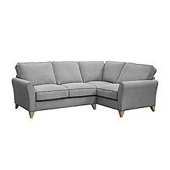 Debenhams - Woven 'Fyfield Barley' right-hand facing corner sofa