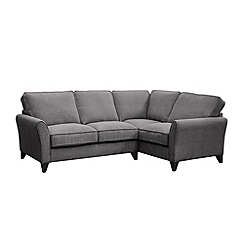 Debenhams - Woven 'Fyfield Barley' right-hand facing corner sofa