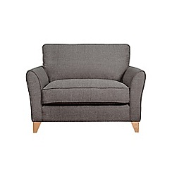 Debenhams - Textured 'Fyfield' loveseat